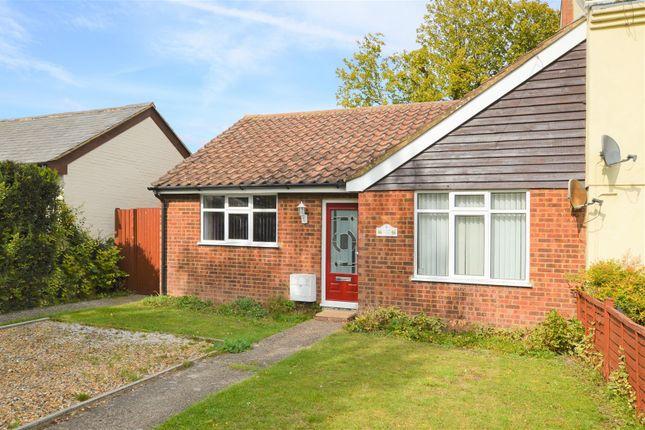 Thumbnail Semi-detached bungalow for sale in St Giles Close, Totternhoe, Dunstable