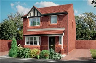 Thumbnail Detached house for sale in Crewe Road, Winterley