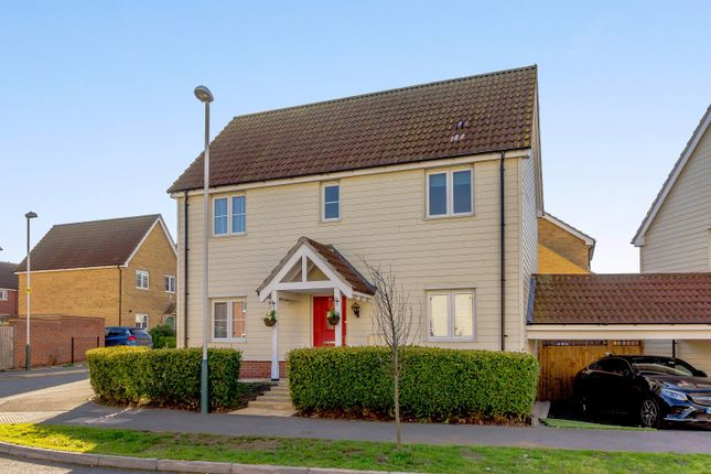 Thumbnail Detached house for sale in Le Noke Avenue, Noak Hill, Romford