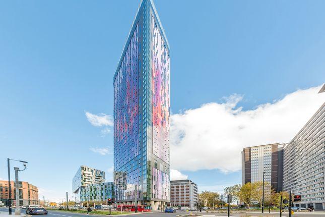 External of Pinnacle Apartments, Saffron Square, Croydon CR0