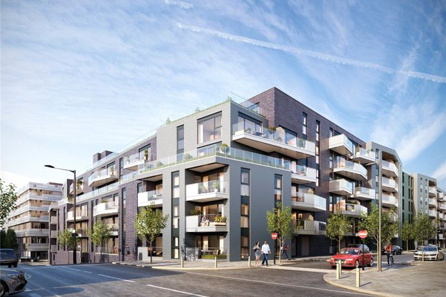 Thumbnail Flat for sale in Greenwich Square - Courtyard, Hawthorne Crescent, Greenwich, London