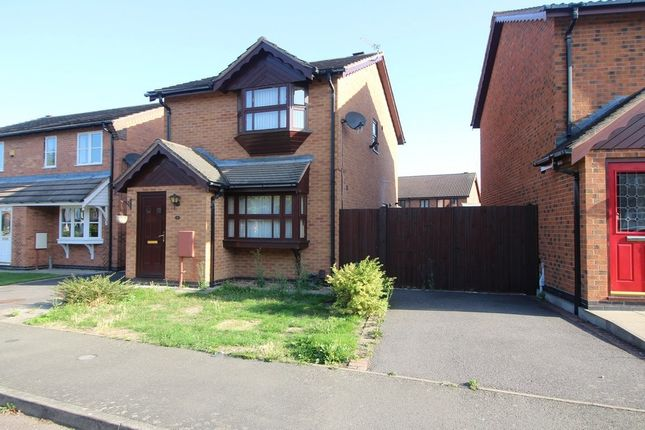 Thumbnail Detached house to rent in Ascot Drive, Grantham