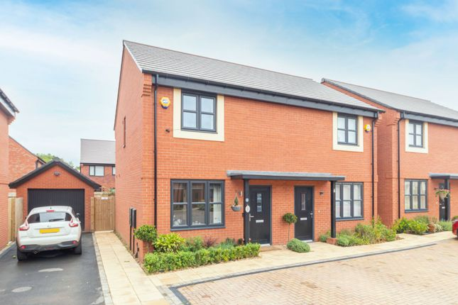 Thumbnail Semi-detached house for sale in James Watt Drive, Blythe Valley Park, Shirley, Solihull