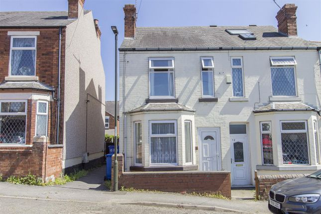 Thumbnail Semi-detached house for sale in Station Lane, New Whittington, Chesterfield