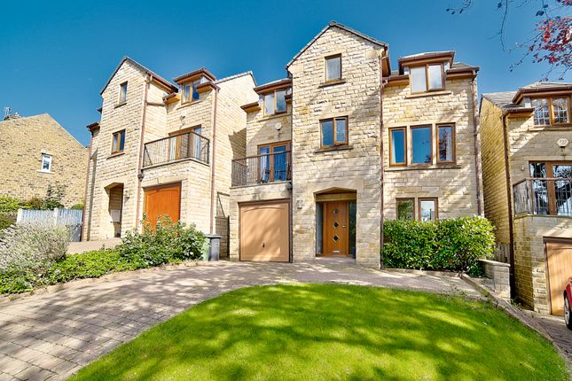 Thumbnail Detached house for sale in Leak Hall Road, Denby Dale, Huddersfield
