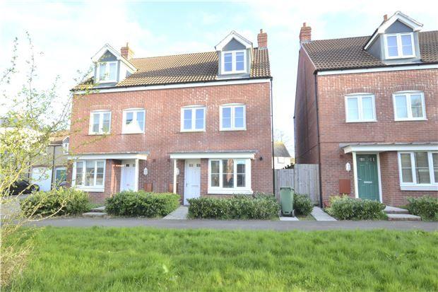 Thumbnail Semi-detached house for sale in Napier Drive, Brockworth, Gloucester