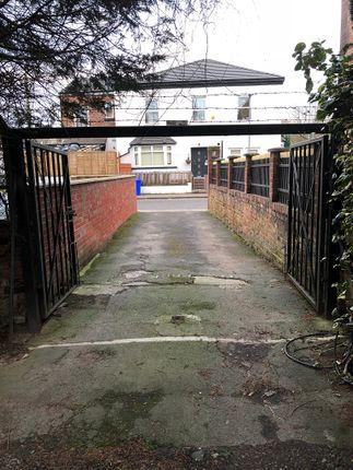Gated Entrance To Car Park/Rear Garden
