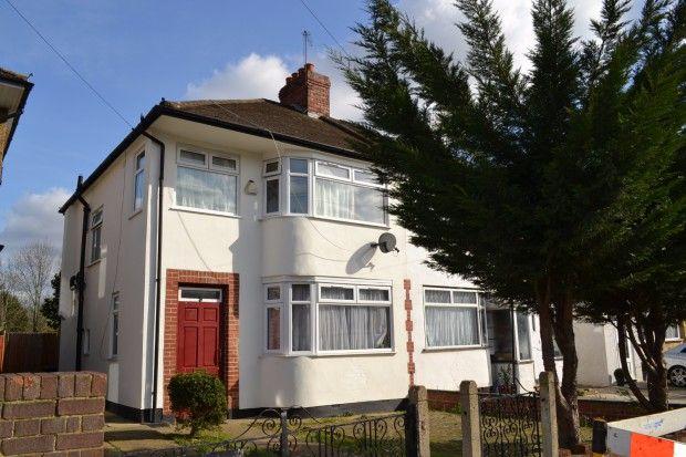Thumbnail Semi-detached house to rent in Alderney Gardens, Northolt