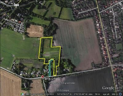Land for sale in Merfield, Parrs Lane, Aughton