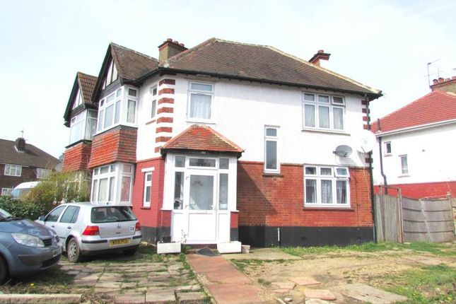 Thumbnail Semi-detached house to rent in St Johns Road, Wembley, Middlesex