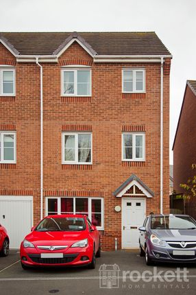 Thumbnail Town house to rent in Galingale View, Newcastle-Under-Lyme