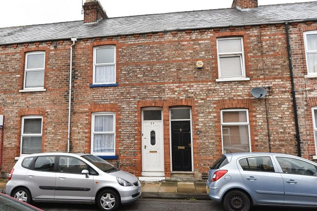 Thumbnail Terraced house to rent in Gladstone Street, Acomb, York