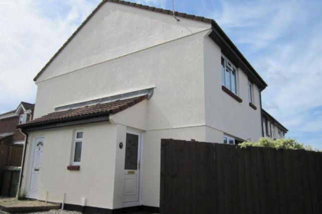 1 bed end terrace house to rent in Buddle Close, Staddiscombe, Plymouth, Devon PL9