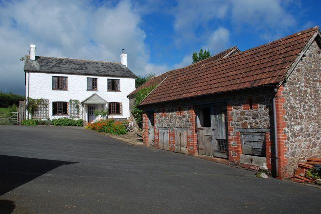 Thumbnail Farmhouse for sale in Burrington, Umberleigh