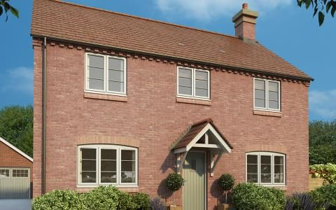 Thumbnail Detached house for sale in Burcote Road, Wood Burcote, Towcester