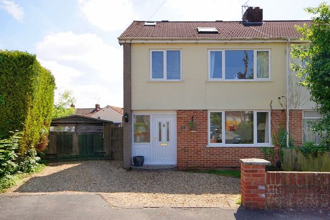 Thumbnail Semi-detached house for sale in 5 Hillside Close, Frampton Cotterell, Bristol