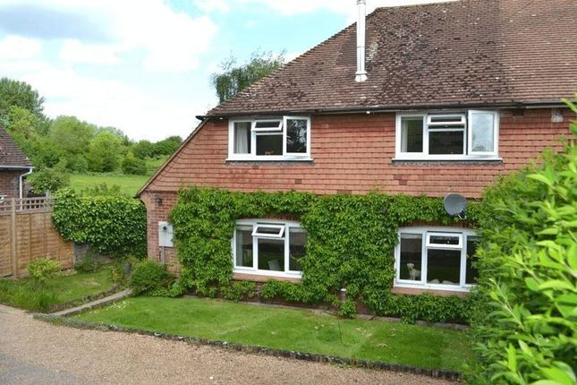 Thumbnail Semi-detached house for sale in St. Hildas, Plaxtol, Sevenoaks
