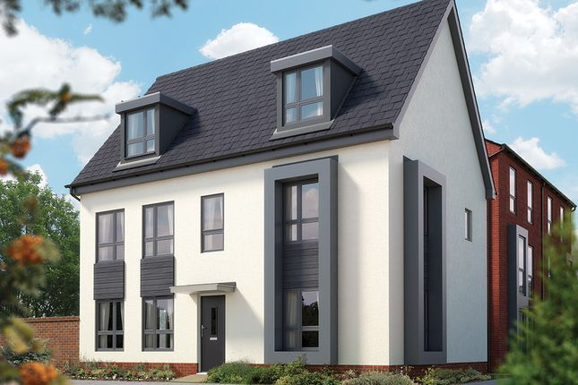 """Thumbnail Detached house for sale in """"The Stratford"""" at Limousin Avenue, Whitehouse, Milton Keynes"""