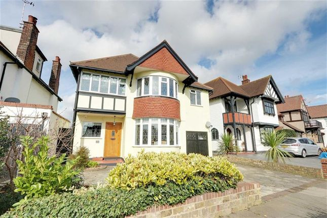 Thumbnail Detached house for sale in The Ridgeway, Westcliff On Sea, Essex