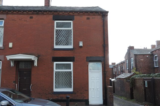 Thumbnail End terrace house to rent in Andrew Street, Chadderton, Oldham