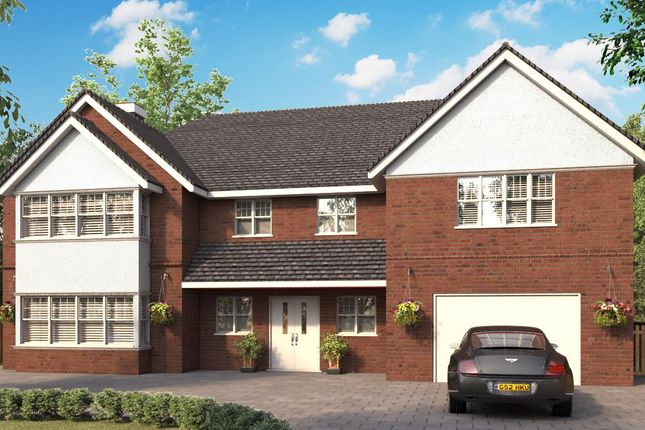 Thumbnail Detached house for sale in Development, Hutton Mount, Shenfield