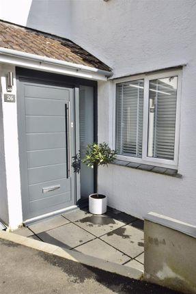 Entrance Porch of Grovehill Crescent, Falmouth TR11