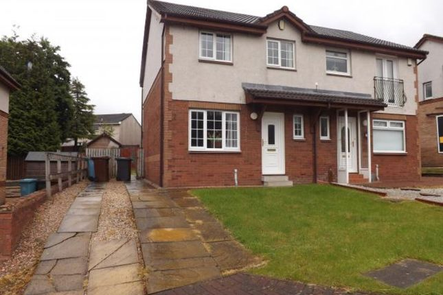 Thumbnail Semi-detached house for sale in 4 Easedale Path, Carnbroe, Coatbridge