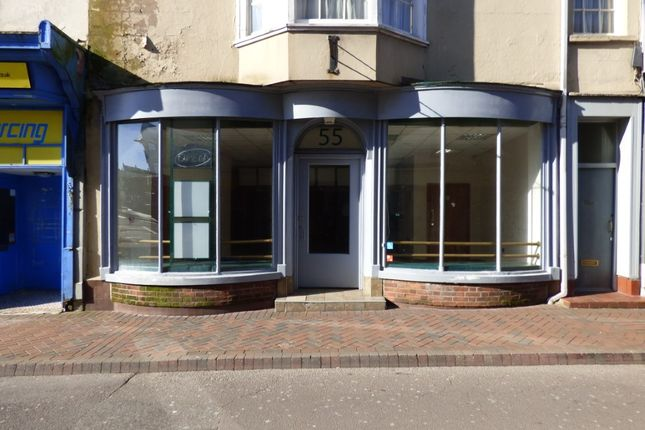 Retail premises to let in St Thomas Street, Weymouth