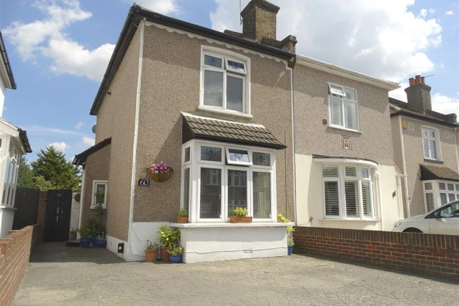 Thumbnail Semi-detached house for sale in Belvedere Road, Bexleyheath
