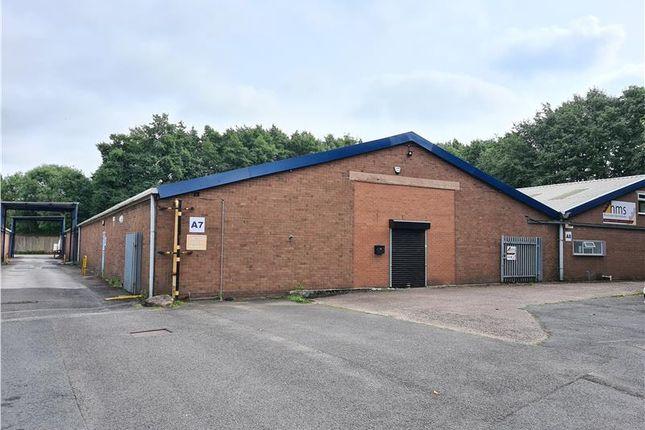 Thumbnail Light industrial to let in Unit Davenport Street, Burslem, Stoke-On-Trent, Staffordshire