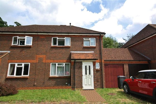 Thumbnail Semi-detached house to rent in Almond Close, Guildford, Surrey
