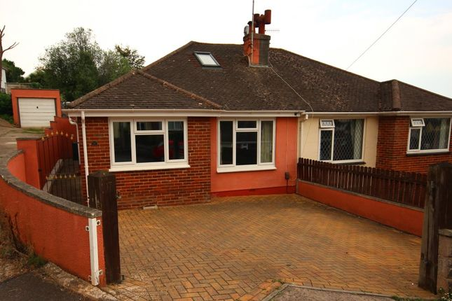 Thumbnail Semi-detached house to rent in Rossall Drive, Paignton