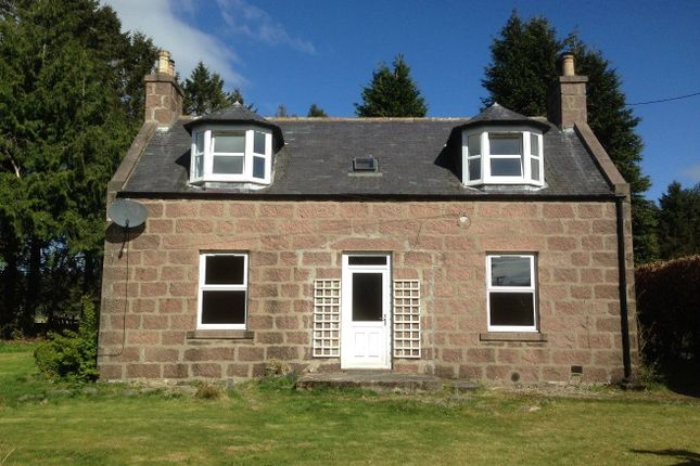 Thumbnail Detached house to rent in Lochton Croft Cottage, Raemoir Road, Banchory
