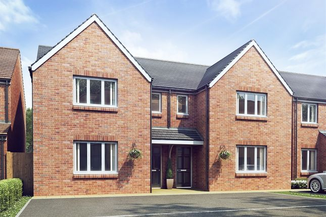 "Thumbnail Terraced house for sale in ""The Hatfield"" at Appleford Road, Sutton Courtenay, Abingdon"
