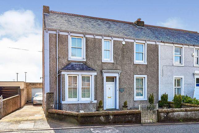 Thumbnail Semi-detached house for sale in Station Road, Aspatria, Wigton, Cumbria