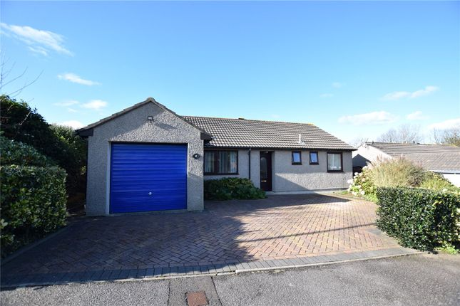 Thumbnail Detached bungalow for sale in Meadow Drive, Camborne