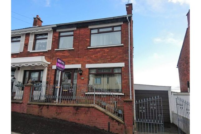 Thumbnail Semi-detached house for sale in Woodvale Avenue, Belfast