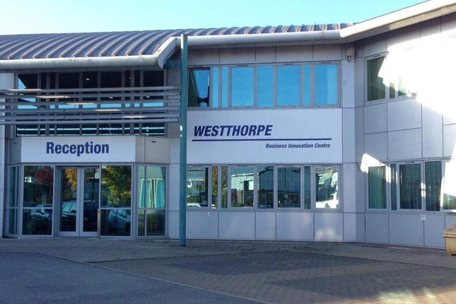 Office to let in Westthorpe Business Innovation Centre, Killamarsh