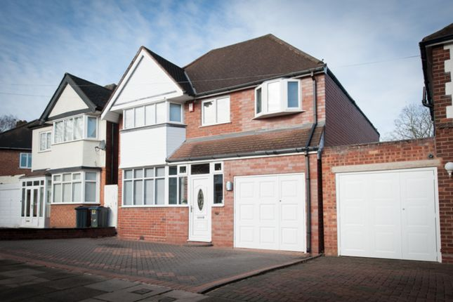 Thumbnail Detached house for sale in Inverclyde Road, Handsworth Wood, Birmingham