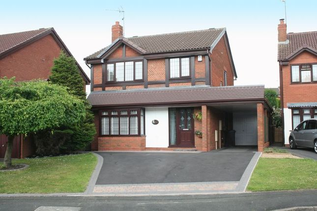 Thumbnail Detached house for sale in Ploverdale Crescent, Kingswinford