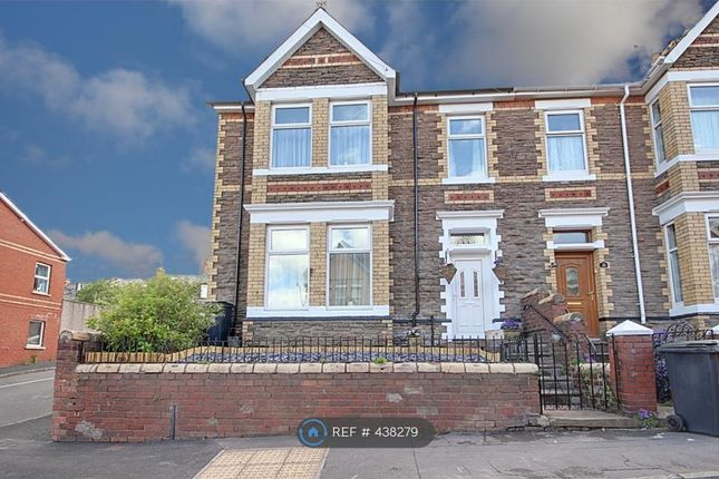 Thumbnail End terrace house to rent in Morden Road, Newport