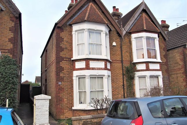 Semi-detached house to rent in Beverley Road, Canterbury