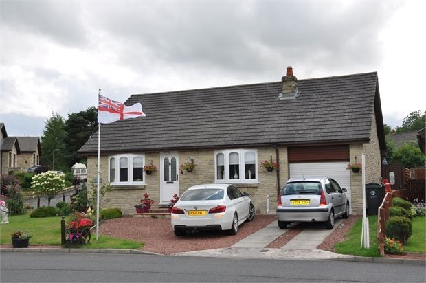 Thumbnail Detached bungalow for sale in The Cherry Trees, Otterburn