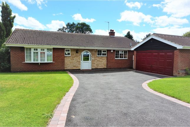 Thumbnail Detached bungalow for sale in Garland, Rothley