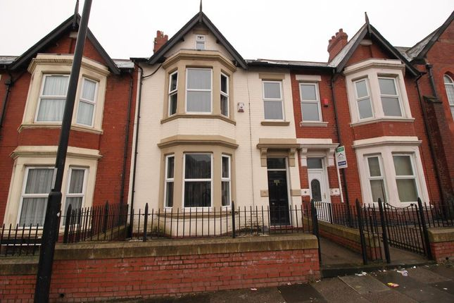 Thumbnail Terraced house for sale in Wingrove Road, Fenham, Newcastle Upon Tyne