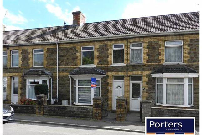 Thumbnail Terraced house to rent in Penybont Road, Pencoed, Bridgend