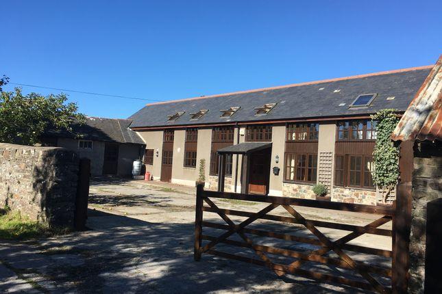 Thumbnail Barn conversion for sale in Filleigh, Barnstaple