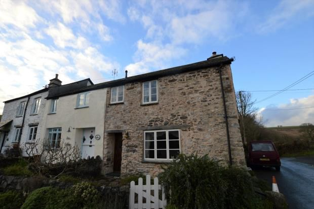 Thumbnail End terrace house for sale in Higher Dean, Buckfastleigh, Devon