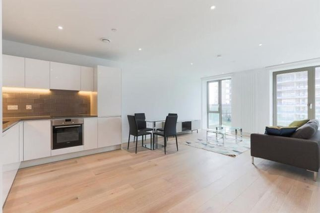 Thumbnail 1 bed flat for sale in Royal Wharf, Thameside House, Silvertown, London