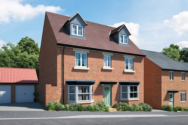 "Thumbnail Detached house for sale in ""The Langton"" at Hill Top Close, Market Harborough"